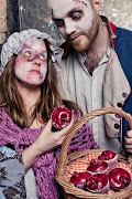 . teamed up with the London Dungeon for a really sick Valentines Day treat . (npp )