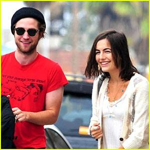 Camilla Belle  Robert Pattinson on Robert Pattinson Y Camilla Belle El Domingo En Venice California