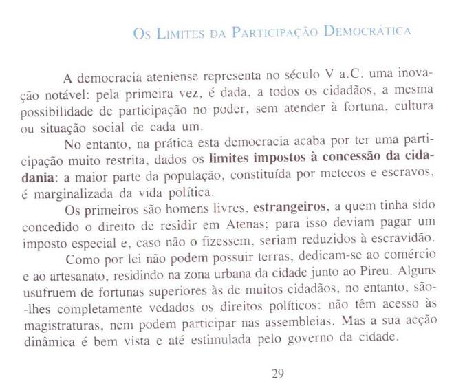 Os limites da participação democrática