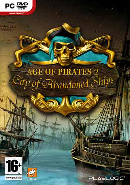 Categoria estrategia, Capa Age of Pirates 2 City of Abandoned Ships (PC)
