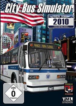 Categoria jogos de pc, Capa Download City Bus Simulator: New York 2010 (PC)