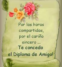 Diploma otorgado por María José...
