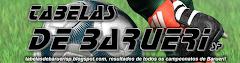 TABELAS DE BARUERI - SP  ... RESULTADOS DAS RODADAS ... ATUALIZADA SEMANALMENTE ...