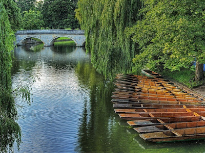 Adorable river view from Cambridge