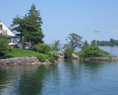 Thousand Islands view