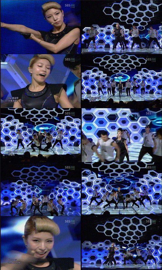 [Pics] BoA en Inkigayo {COPY & PASTE} 36c8a7862a66847867096edd