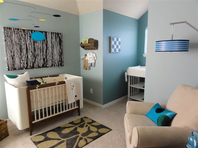 Dallas Interior Designer: Project ADC: Modern Baby Room Plano