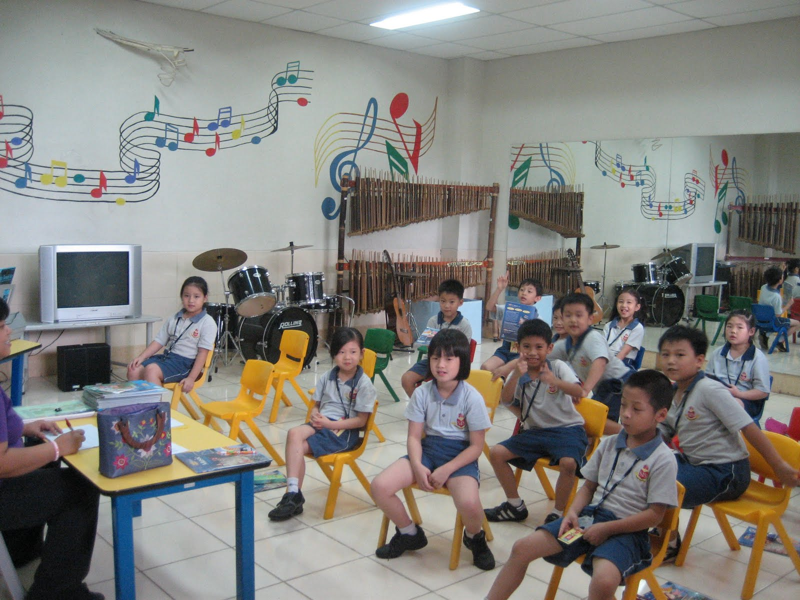 This time for our school music room for Schoolhouse music