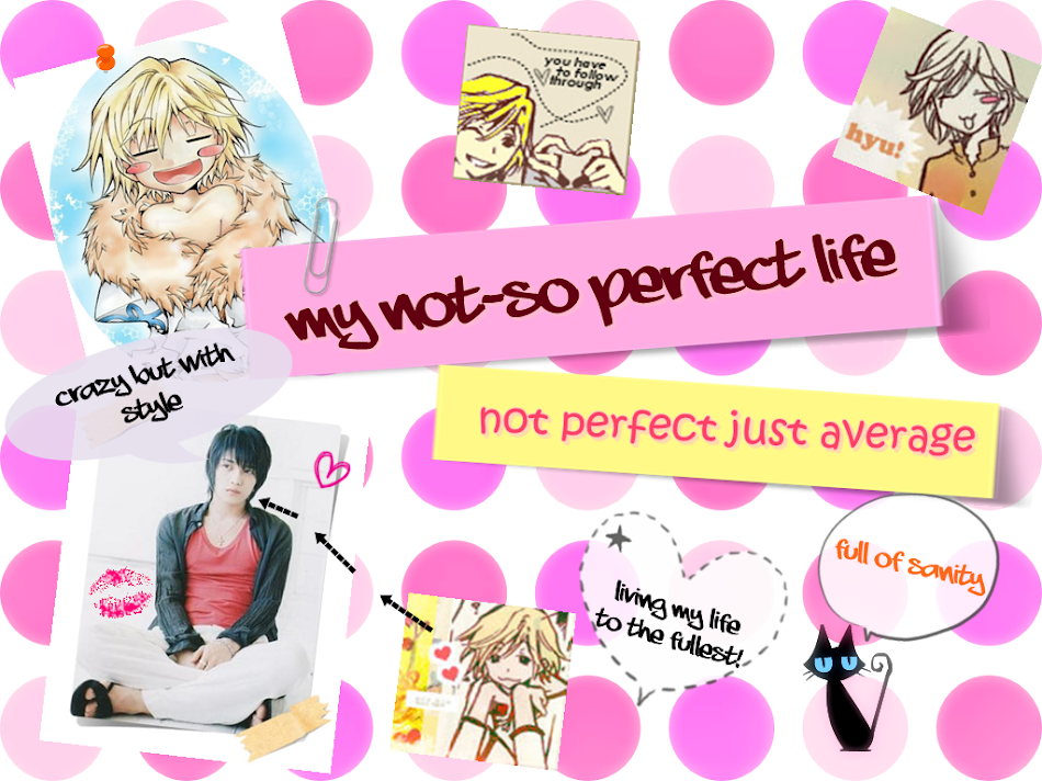 ~MY NOT-SO PERFECT LIFE~