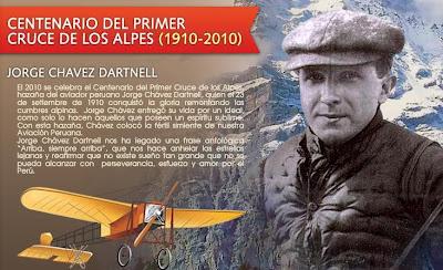 calendario civico escolar peruano 23 de setiembre dia de Jorge Chávez