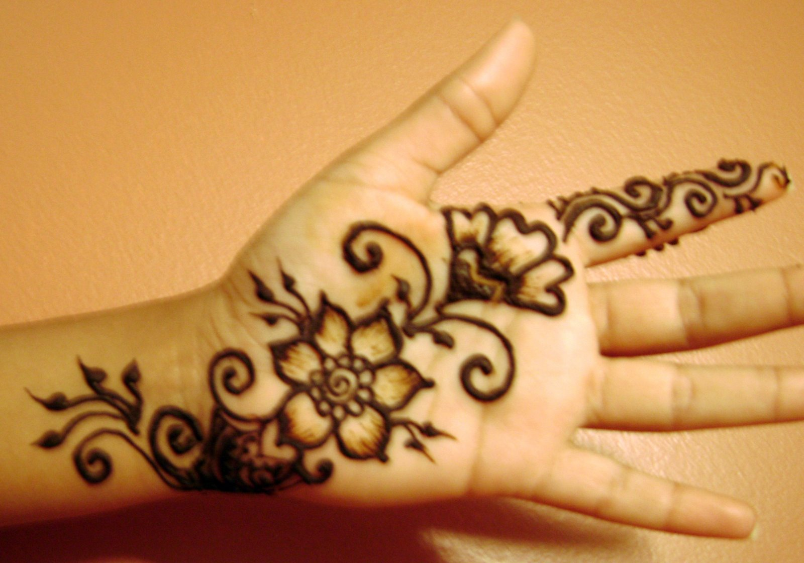 Easy Mehndi Patterns On Paper : Book of very easy mehndi designs for children in ireland by mia
