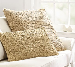 Ruffles and Roses Filet Crochet Pillow Free Pattern