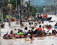 Typhoon flood Philippines