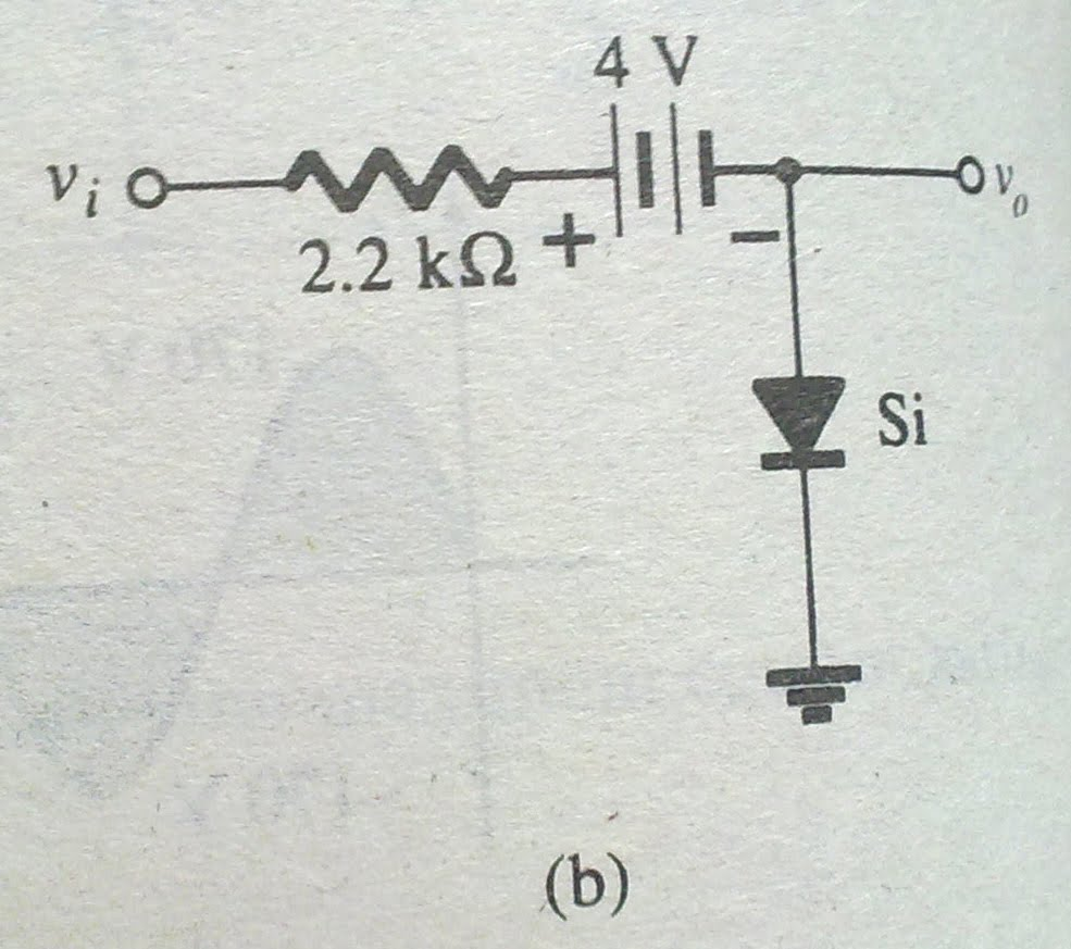 diode applications  clipping circuits