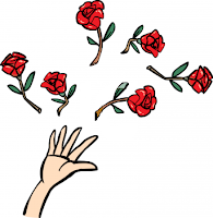 Throwing Roses