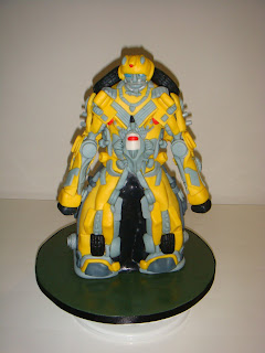 Transformer Bumble Bee Cake front