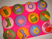 Isna's 21st BD cupcakes