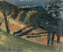 Paisaje Nocturno, óleo s/tela, 10 x 15, 2003