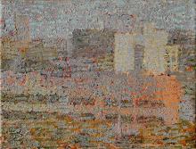 Paisaje, óleo s/tela, 16 x 24