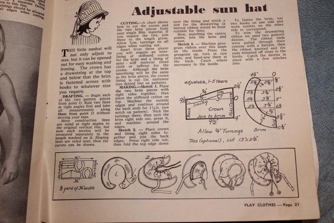 Adjustable Book Cover Pattern : Living shell adjustable summer enid hat