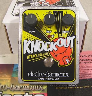 ehx ko Electro Harmonix Knockout Attack Equalizer Review