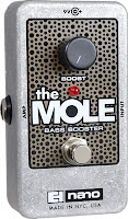 ehx mole Electro Harmonix Screaming Bird Treble Booster and The Mole Bass Booster now available!