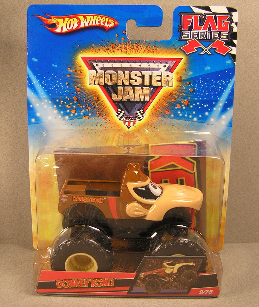 Donkey Kong Monster Truck Toy