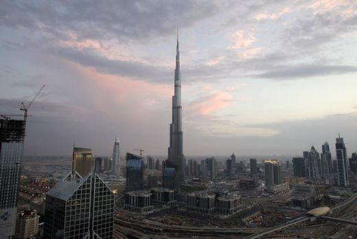 Burj Khalifa - Tallest man-made structure in the world