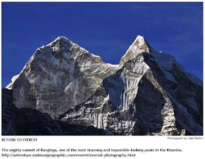Kangtega Himalayas