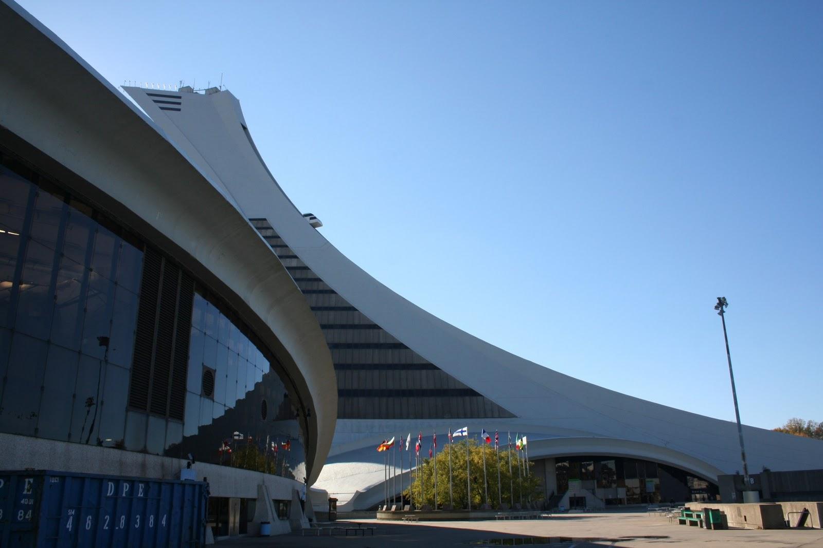 Mon stage montr al montr al centre ville et stade - Piscine du stade olympique ...
