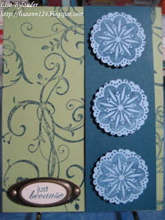 Stampin up, baroque motifs