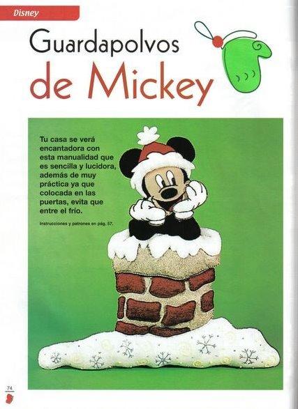 Guardapolvos De Mickey