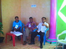 Saksi Pilpres di TPS 8 Ngedukelu - Bajawa NTT
