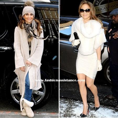 Jennifer López, del estilo más casual al look más sofisticado, en Nueva York
