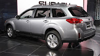 2011 Subaru Outback  New Tecnology side view