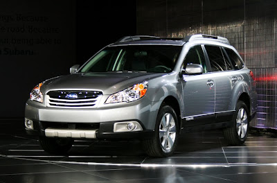 2011 Subaru Outback  New Tecnology front view