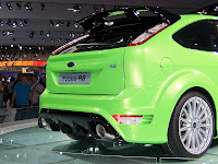 The Amazing Ford Focus RS500 back view