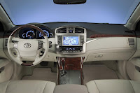 The 2011 Toyota Avalon Auto show interior view