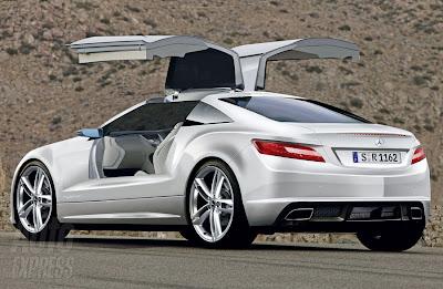 2012 Mercedes Benz SLK back view