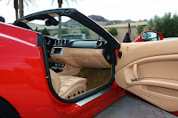2010 Ferrari California Exotic super car open door