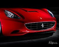 2010 Ferrari California Exotic super car front view