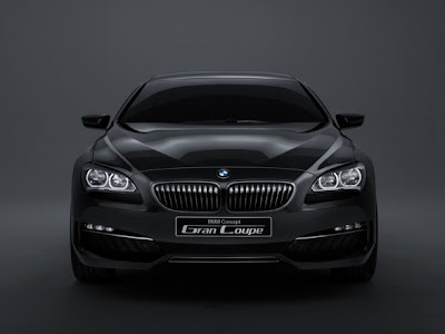 2012 BMW Gran Coupe  Launches front view