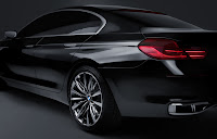 2012 BMW Gran Coupe  Launches side view
