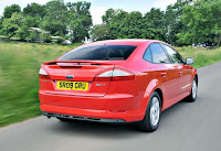 2011 Ford Mondeo Facelift released back view