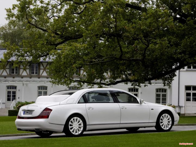 2011 Maybach 62 expensive four door car