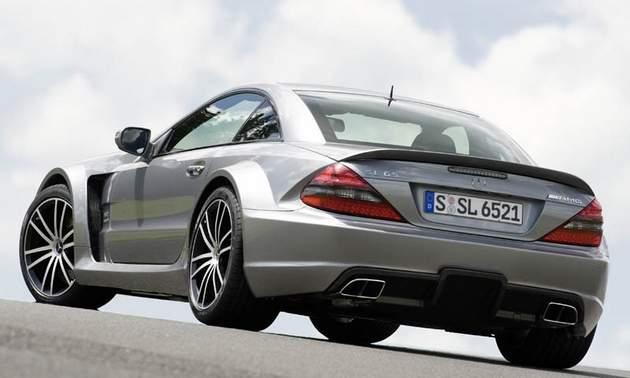Mercedes SL65 AMG new Modification P1000 BACK VIEW