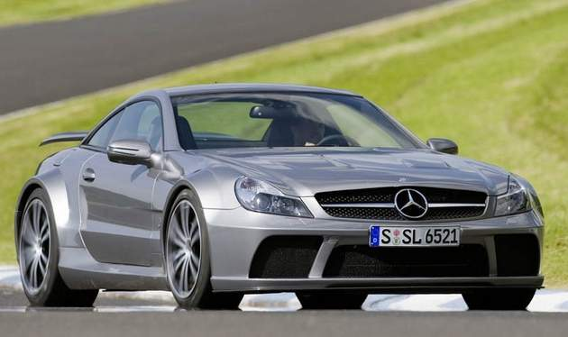 Mercedes SL65 AMG new Modification P1000