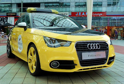 Audi A1 supermini in Hand Senner Tuning front view