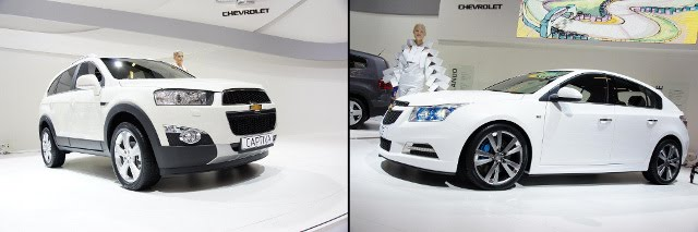 2011 Chevrolet Launches 4 New Vehicles