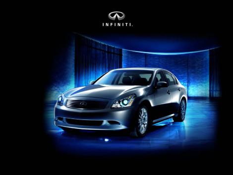 infiniti wallpaper glowing blue